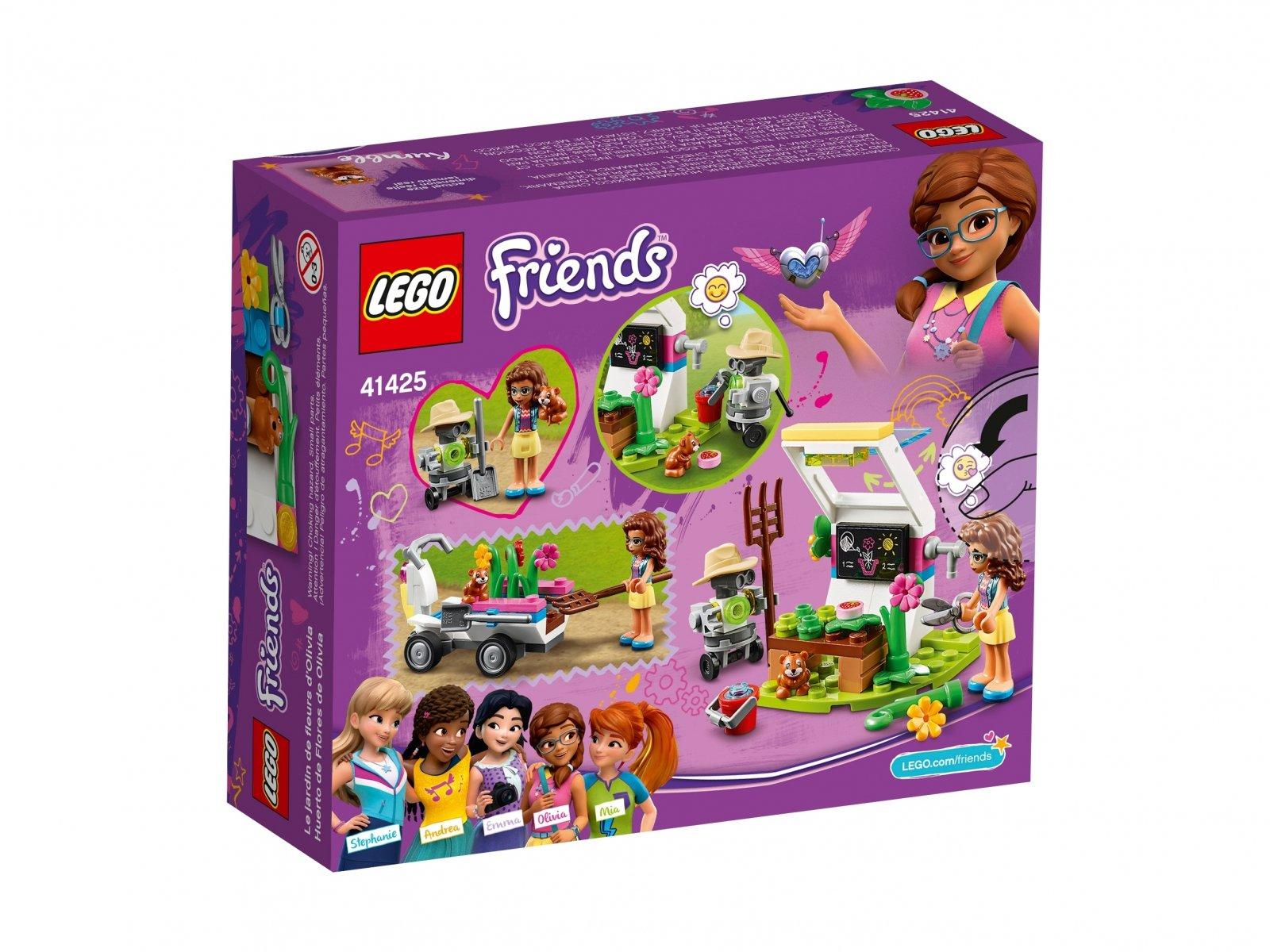 LEGO Friends Kwiatowy ogród Olivii 41425