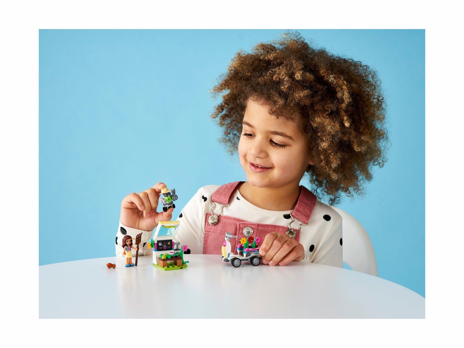 LEGO 41425 Friends Kwiatowy ogród Olivii