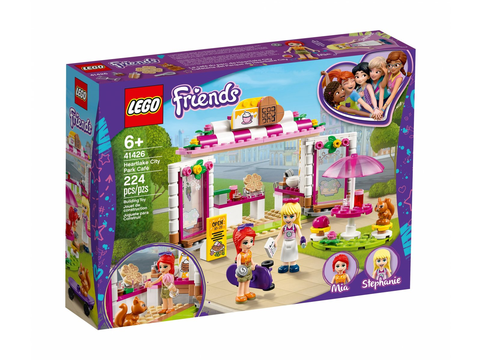 LEGO 41426 Friends Parkowa kawiarnia w Heartlake City