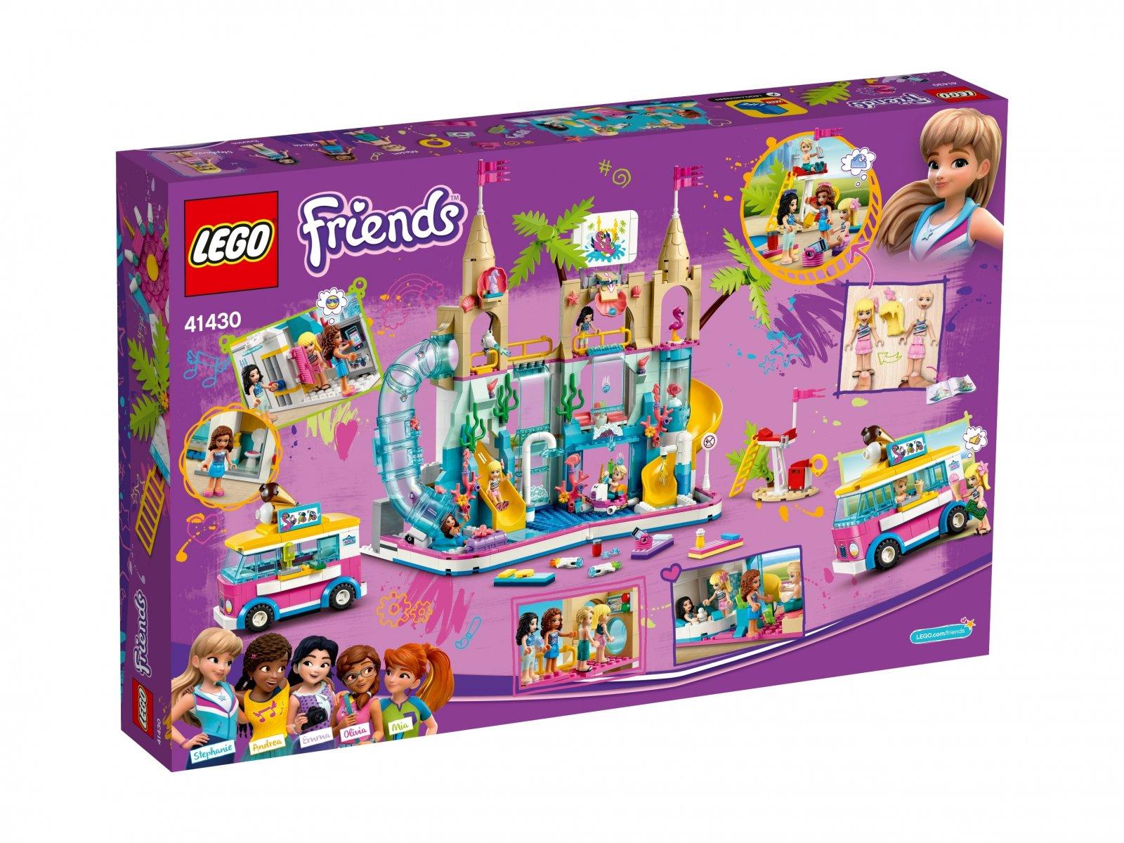 LEGO 41430 Letnia zabawa w parku wodnym