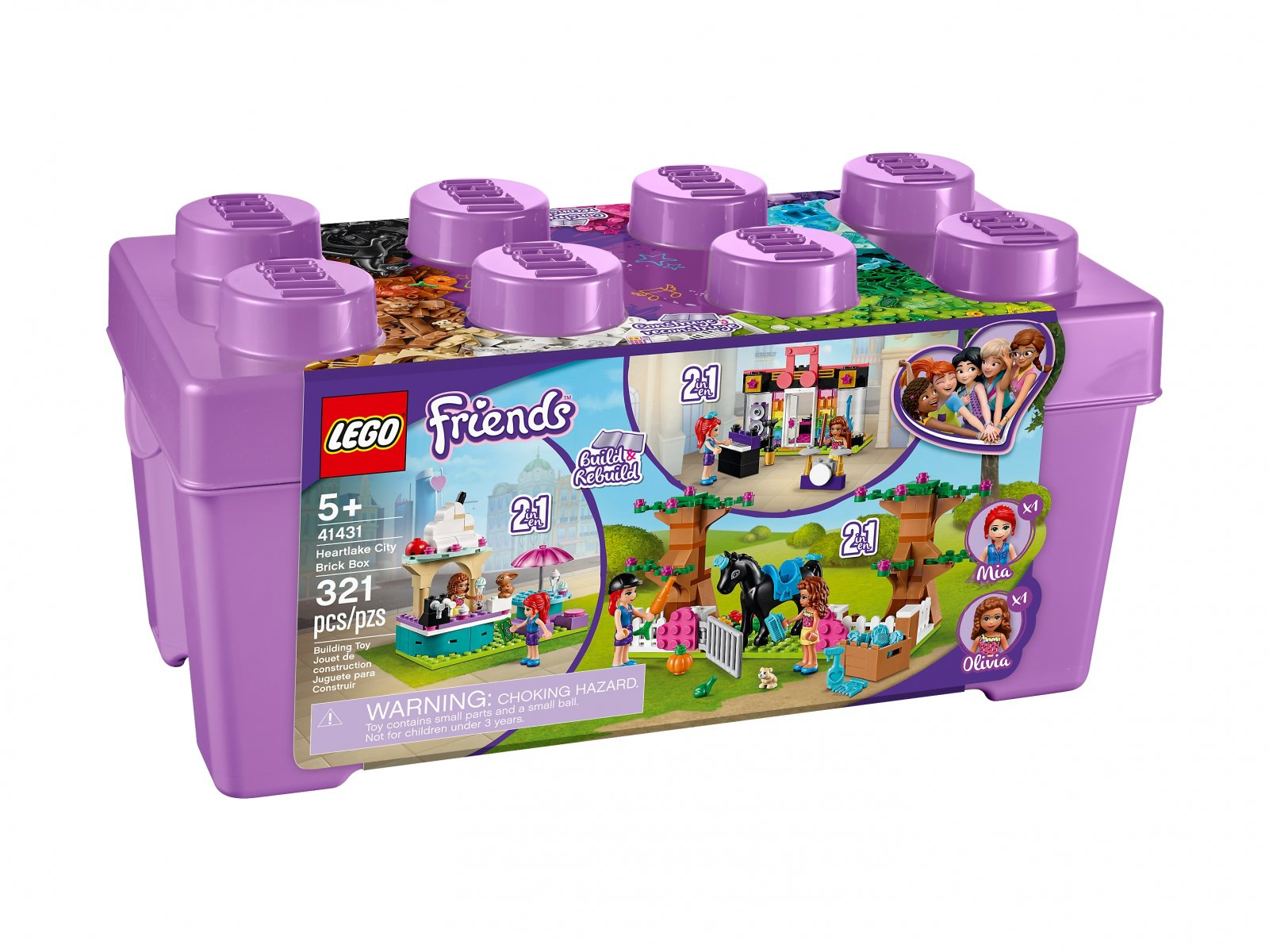 LEGO Friends 41431 Zestaw klocków Heartlake City