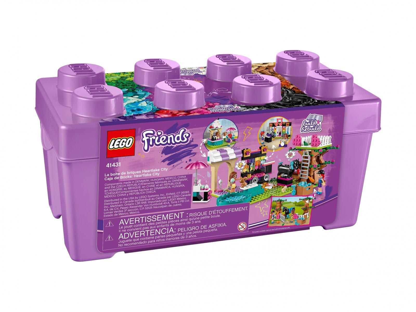 LEGO 41431 Friends Zestaw klocków Heartlake City