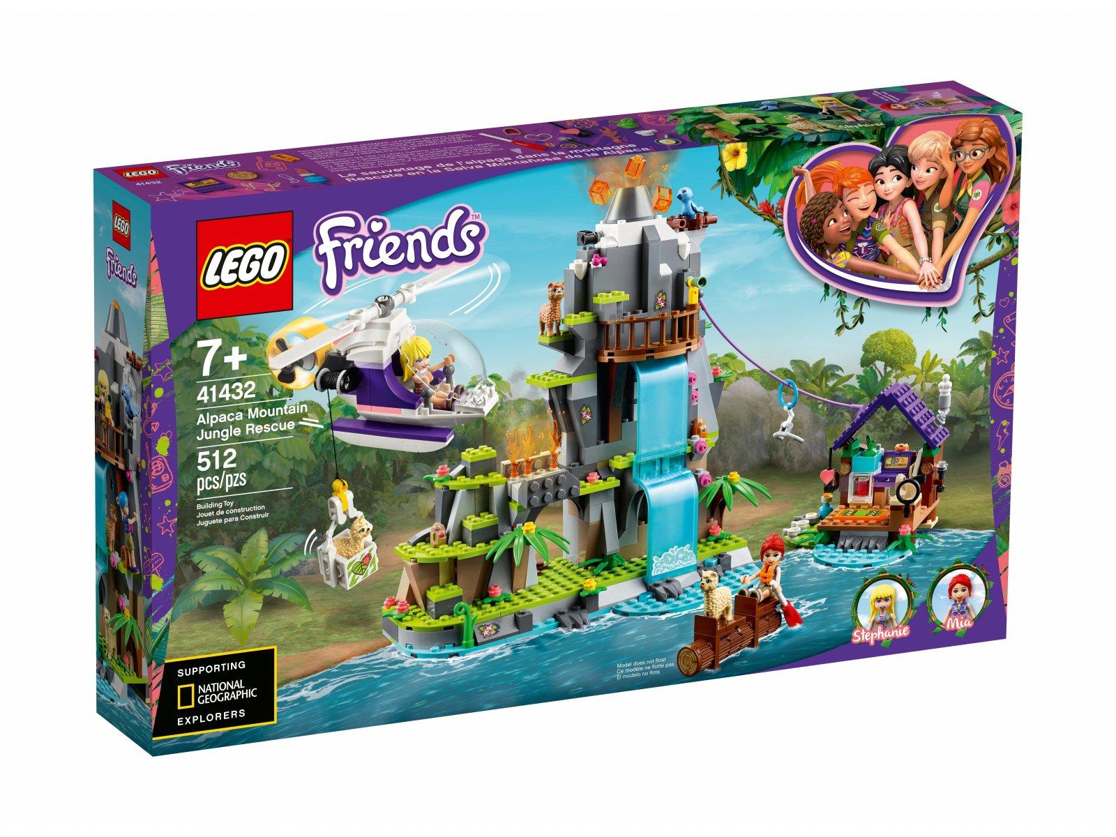 LEGO 41432 Na ratunek alpakom