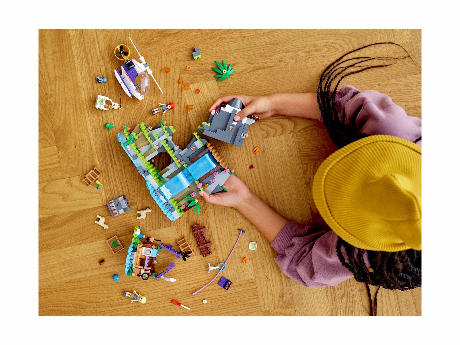 LEGO Friends 41432 Na ratunek alpakom