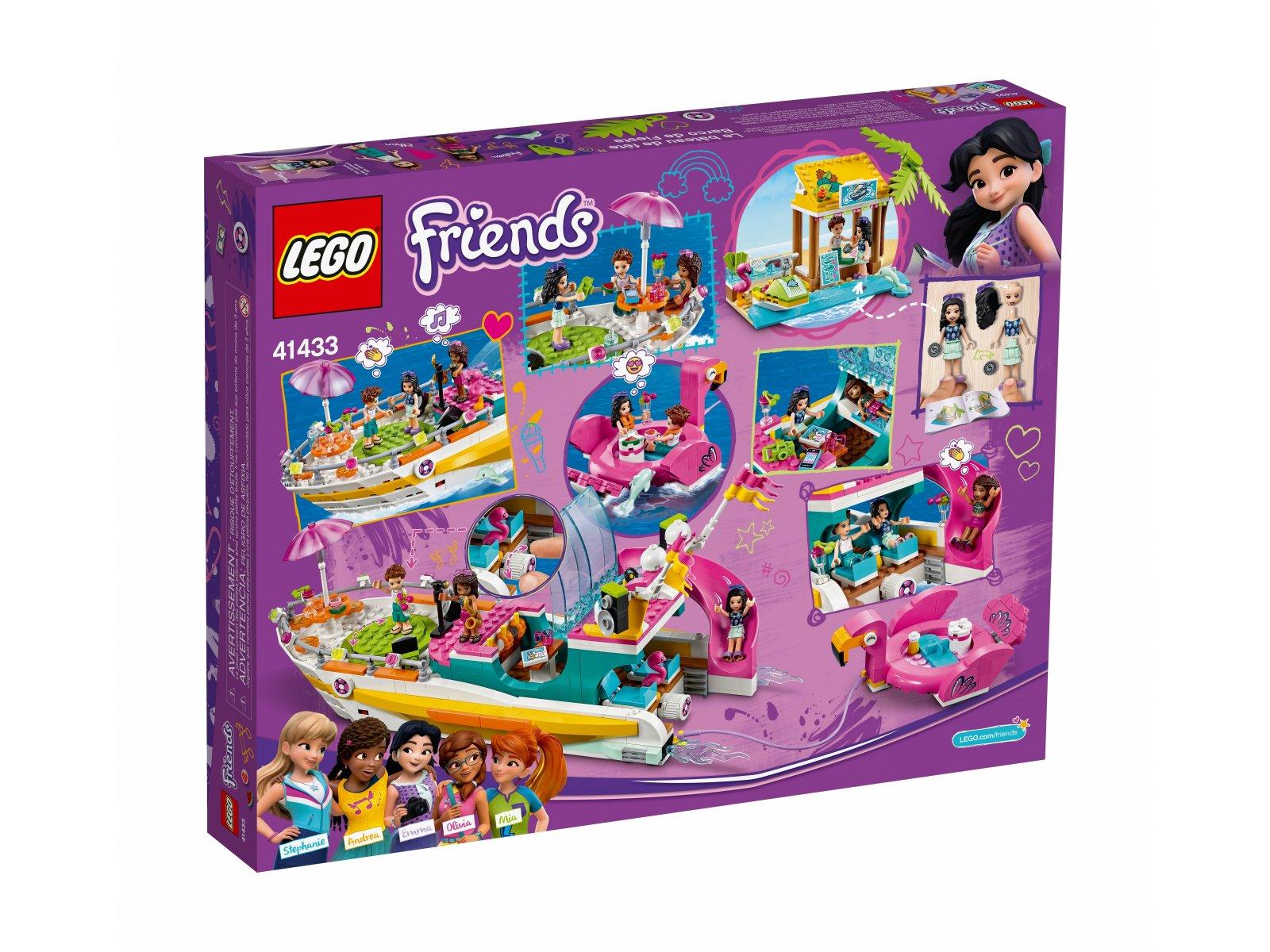 LEGO 41433 Friends Łódź imprezowa