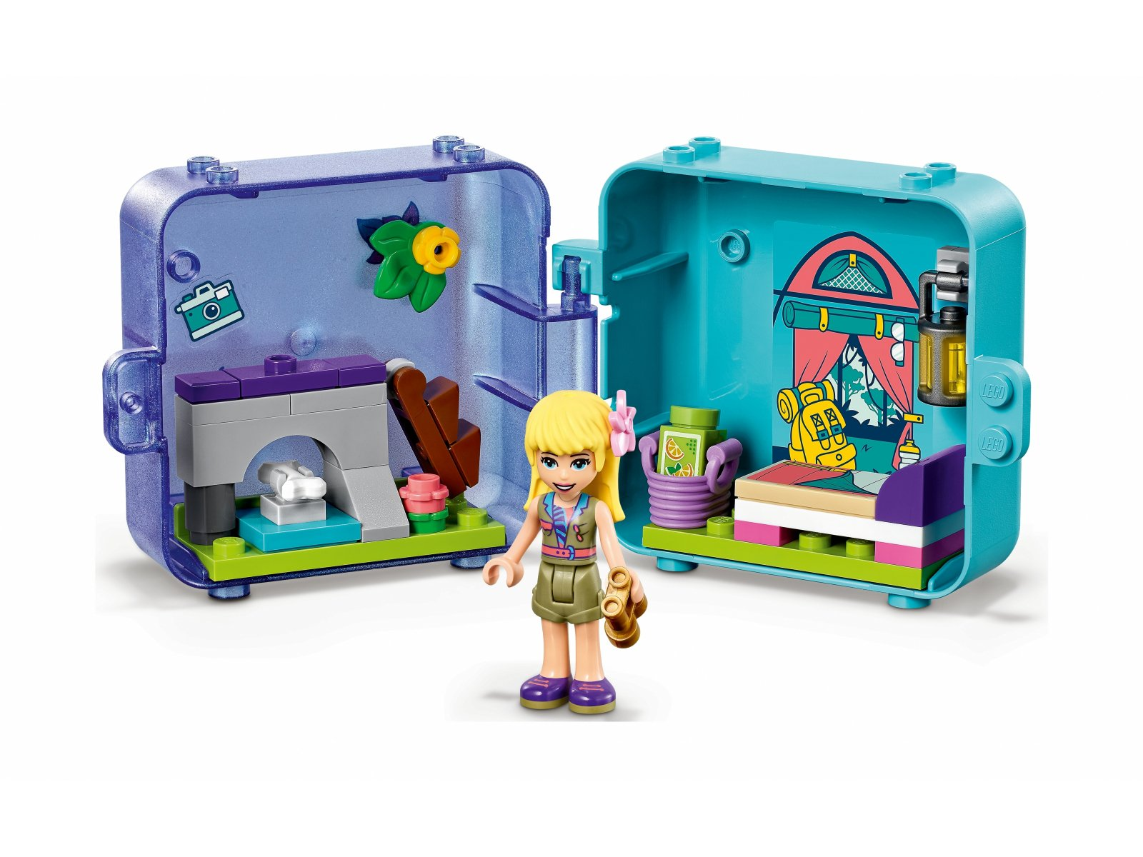LEGO Friends 41435 Dżunglowa kostka do zabawy Stephanie