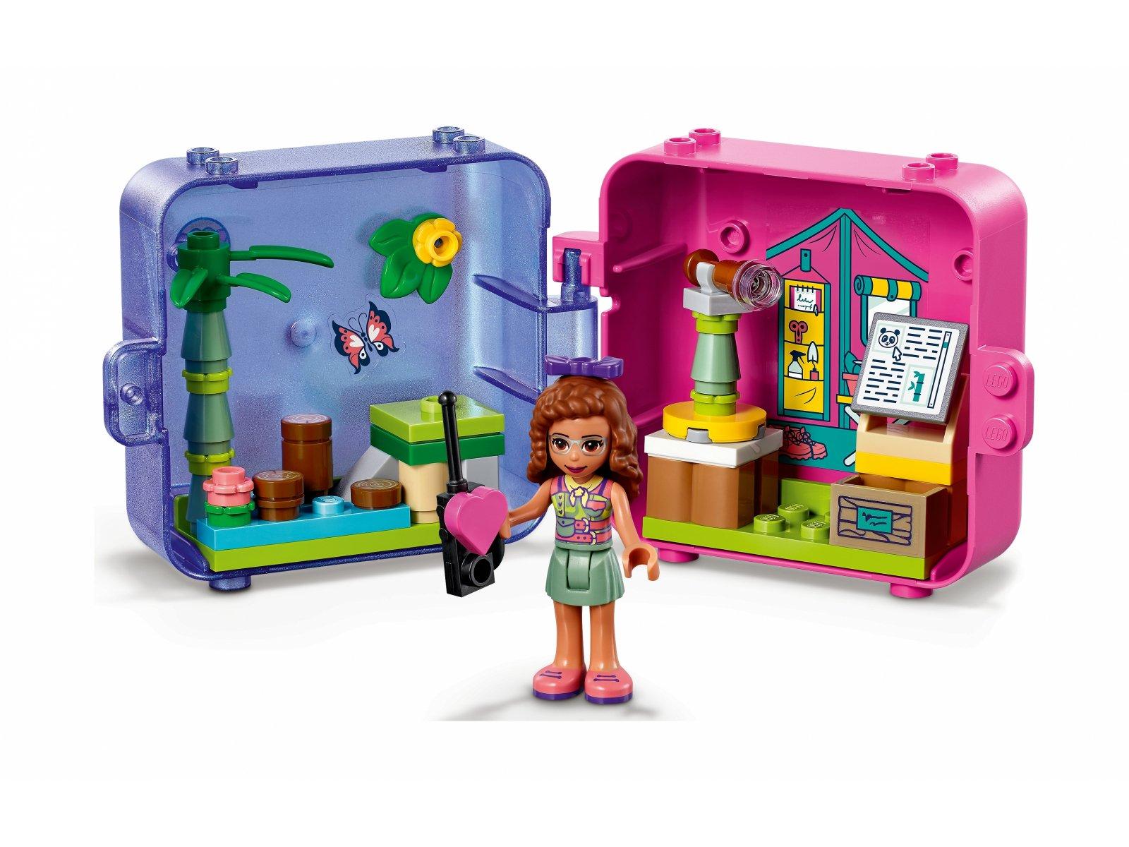 LEGO Friends 41436 Dżunglowa kostka do zabawy Olivii