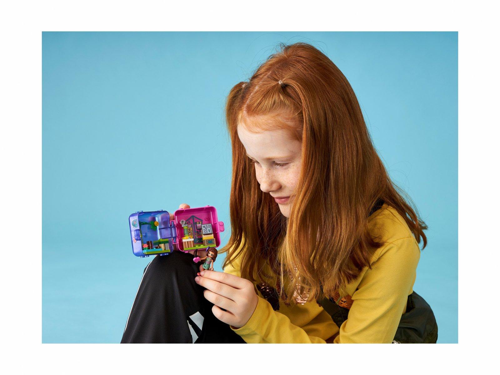 LEGO 41436 Friends Dżunglowa kostka do zabawy Olivii