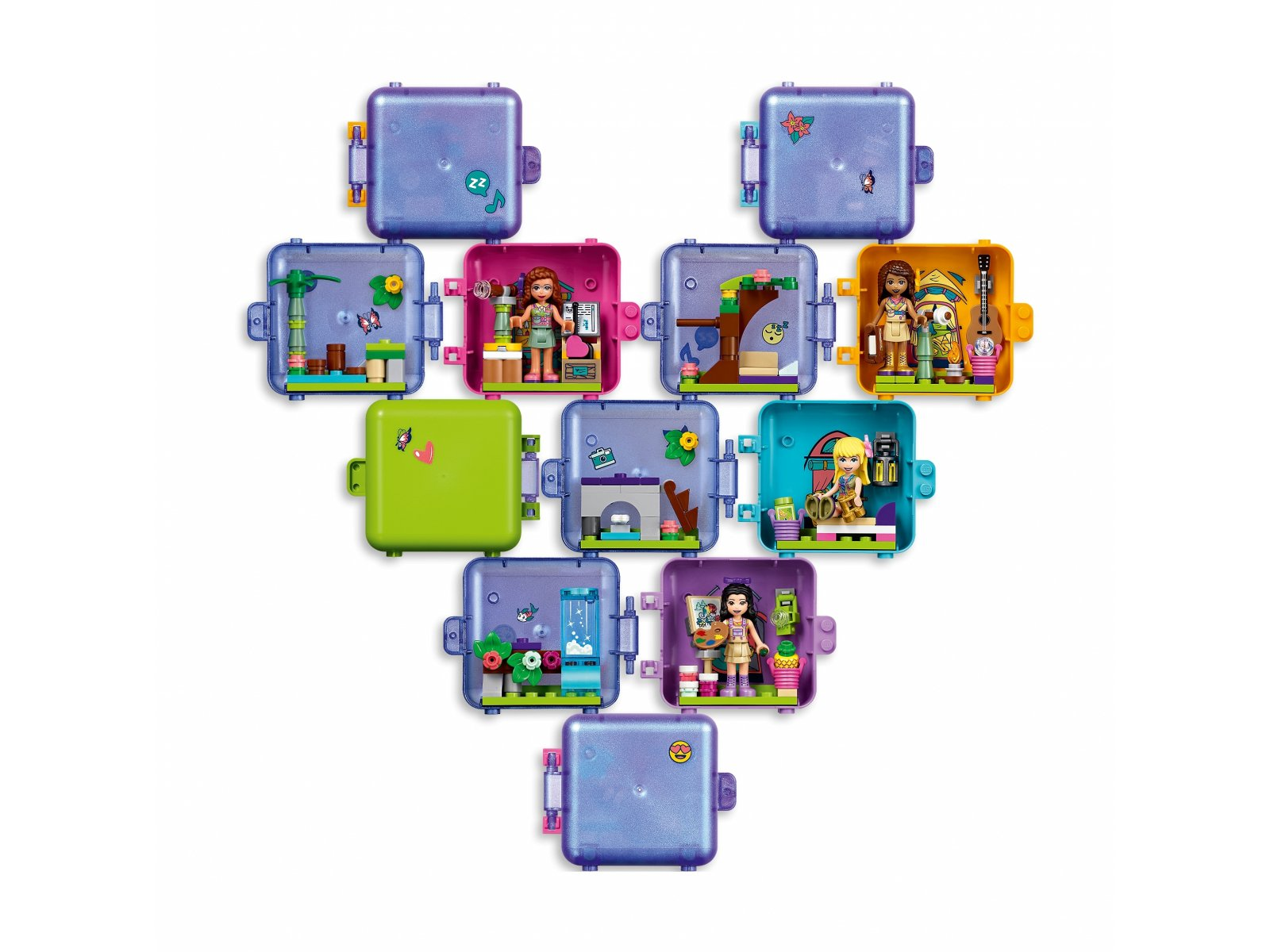 LEGO Friends Dżunglowa kostka do zabawy Mii 41437