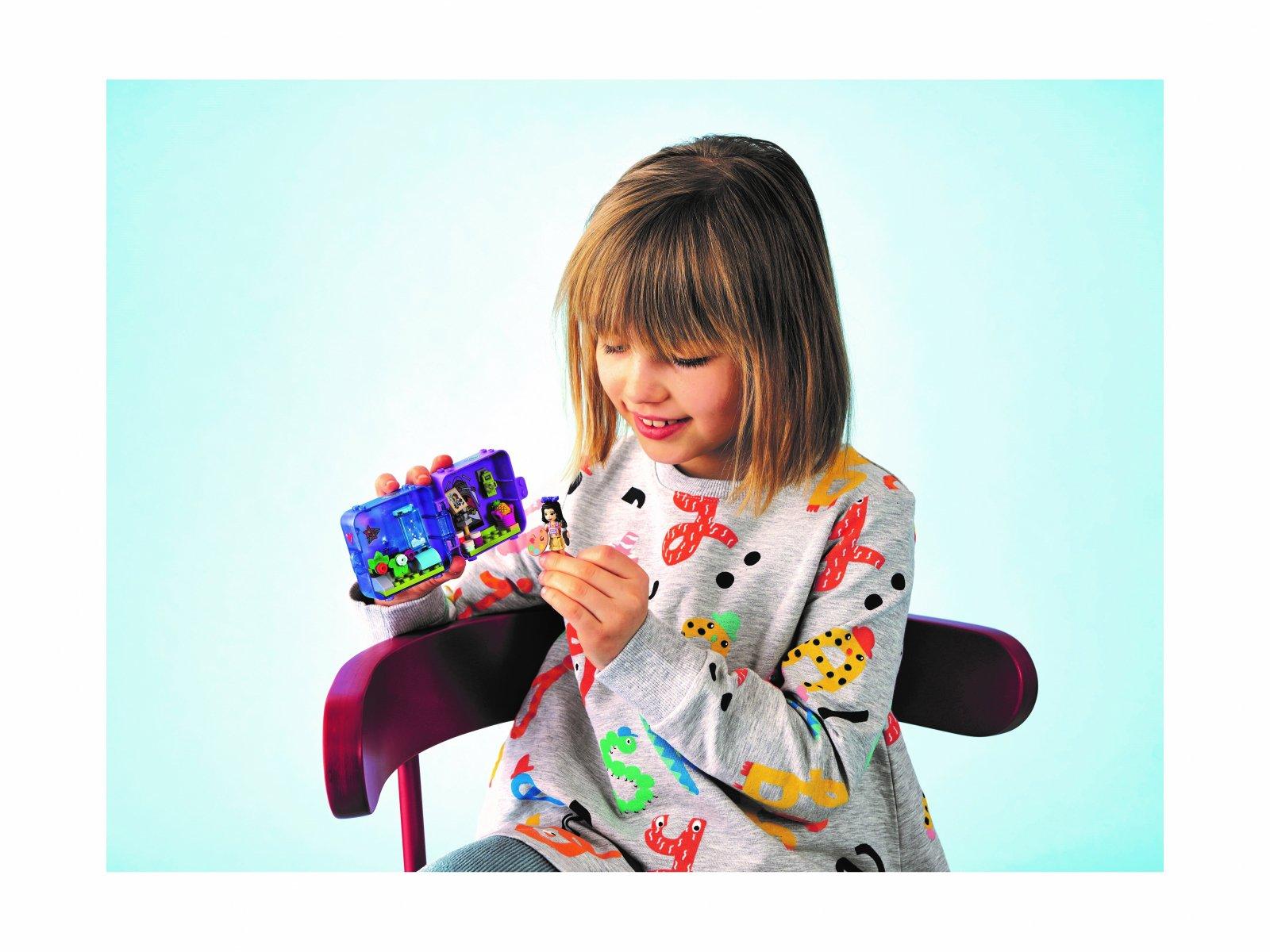LEGO 41438 Friends Dżunglowa kostka do zabawy Emmy