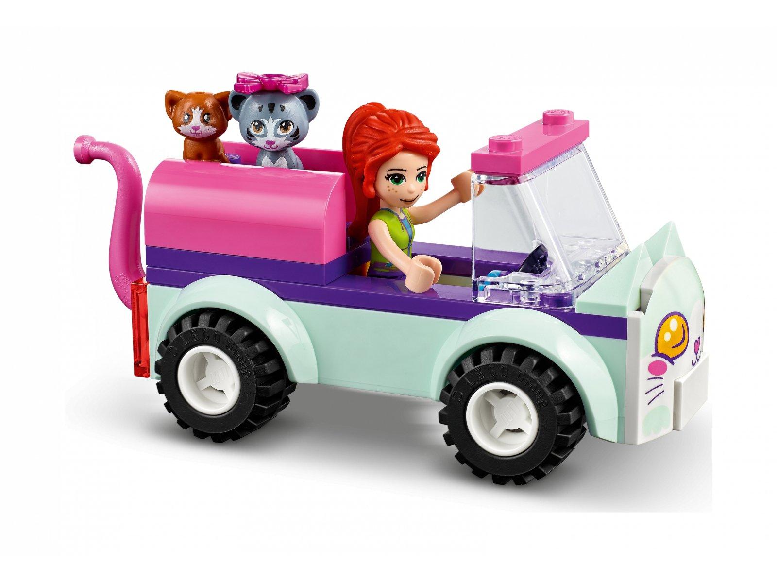 LEGO 41439 Friends Samochód do pielęgnacji kotów