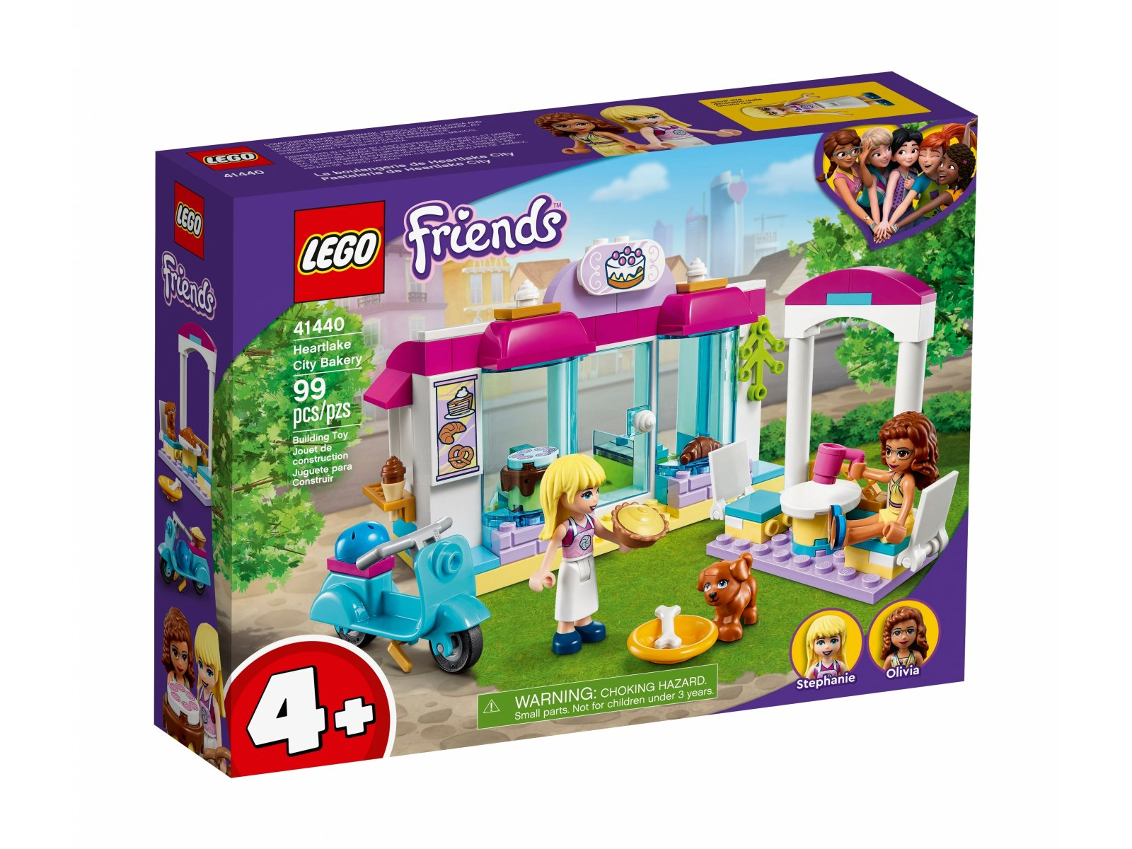 LEGO 41440 Piekarnia w Heartlake City