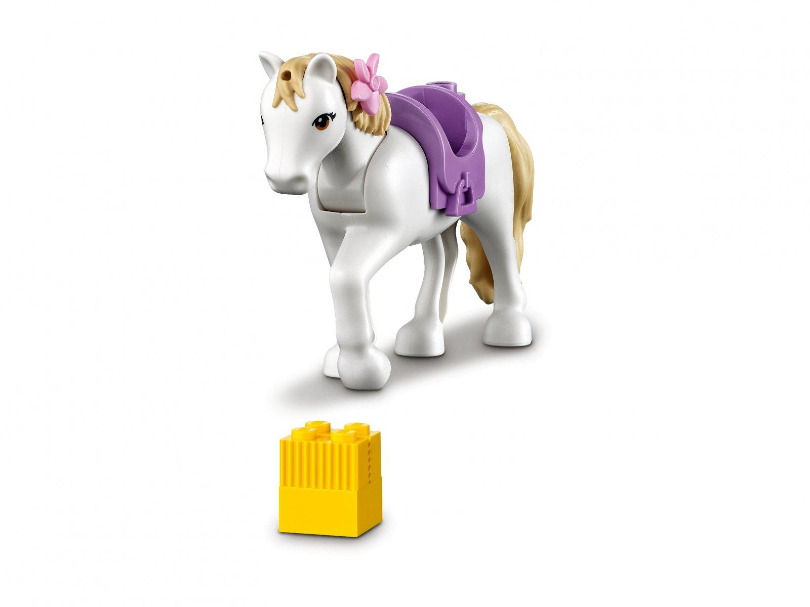LEGO 41441 Szkółka jeździecka i przyczepa dla konia