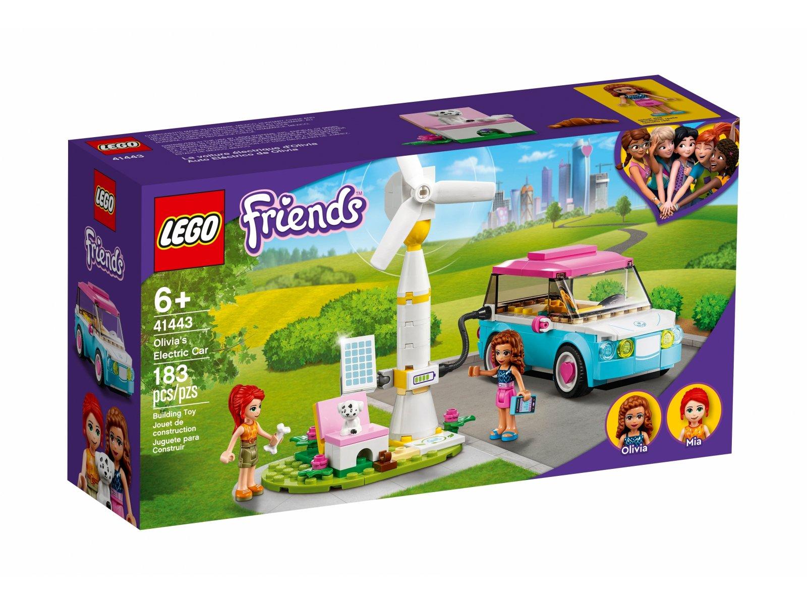 LEGO 41443 Friends Samochód elektryczny Olivii