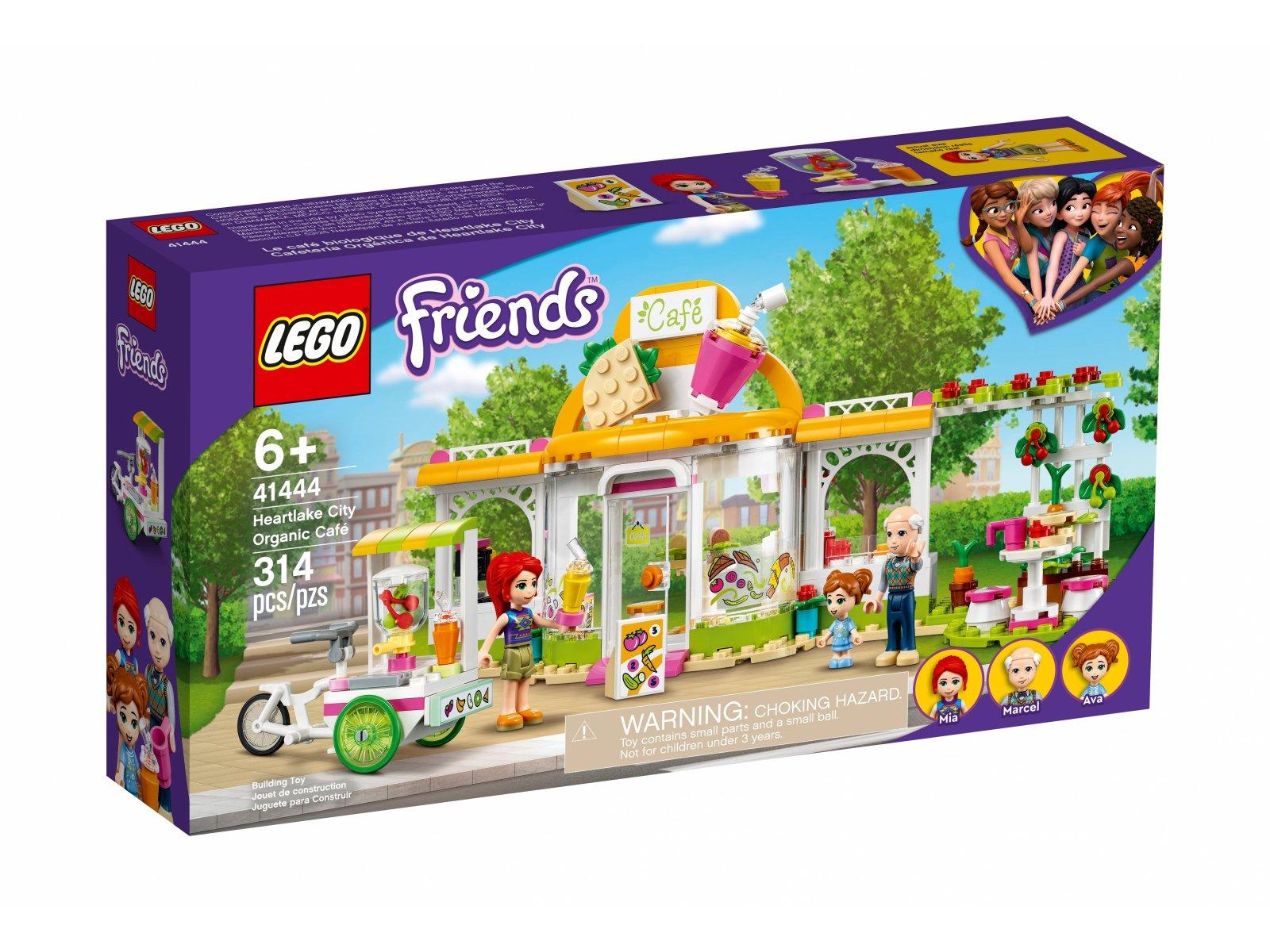 LEGO 41444 Ekologiczna kawiarnia w Heartlake City