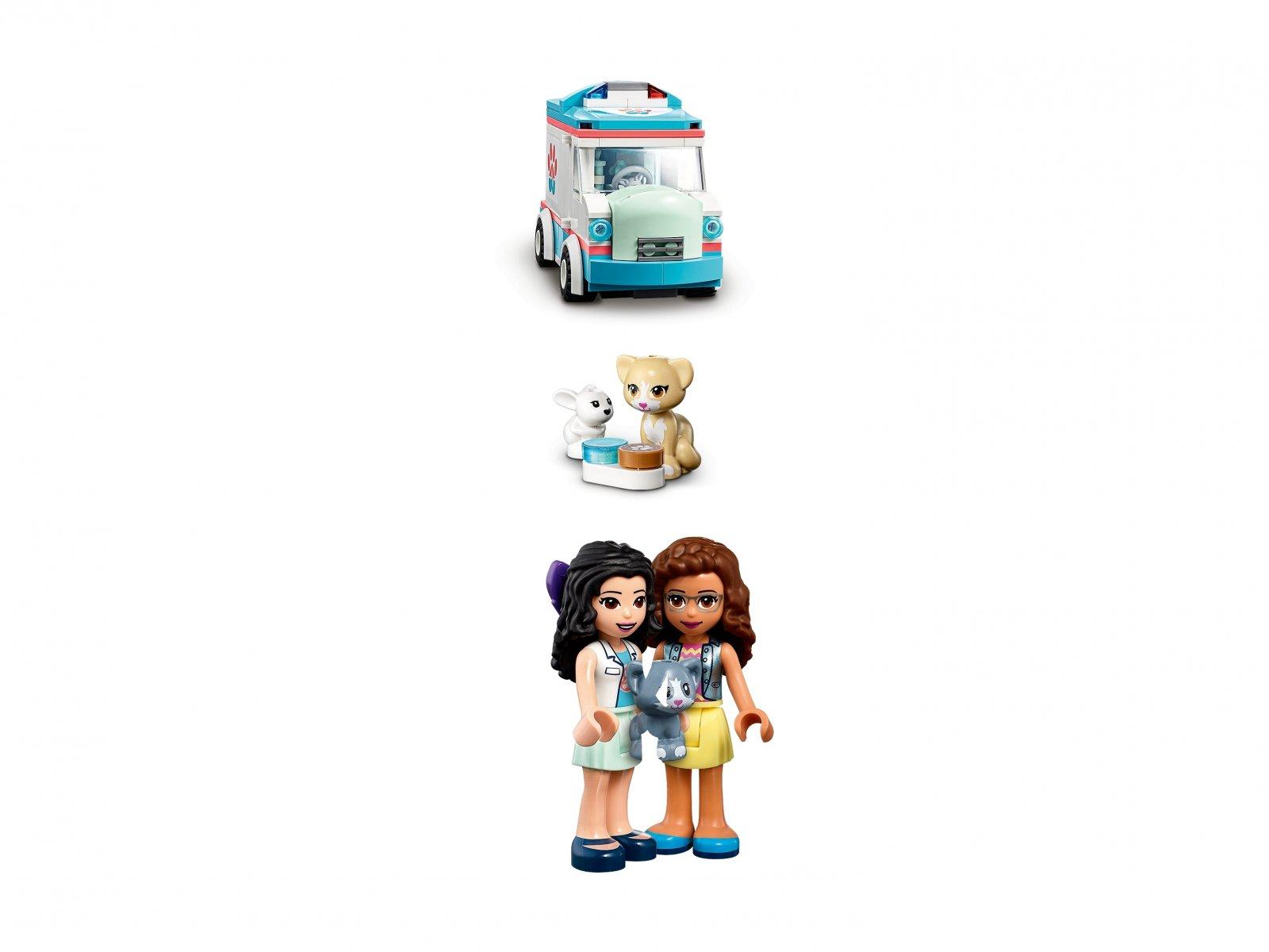 LEGO Friends 41445 Karetka weterynaryjna
