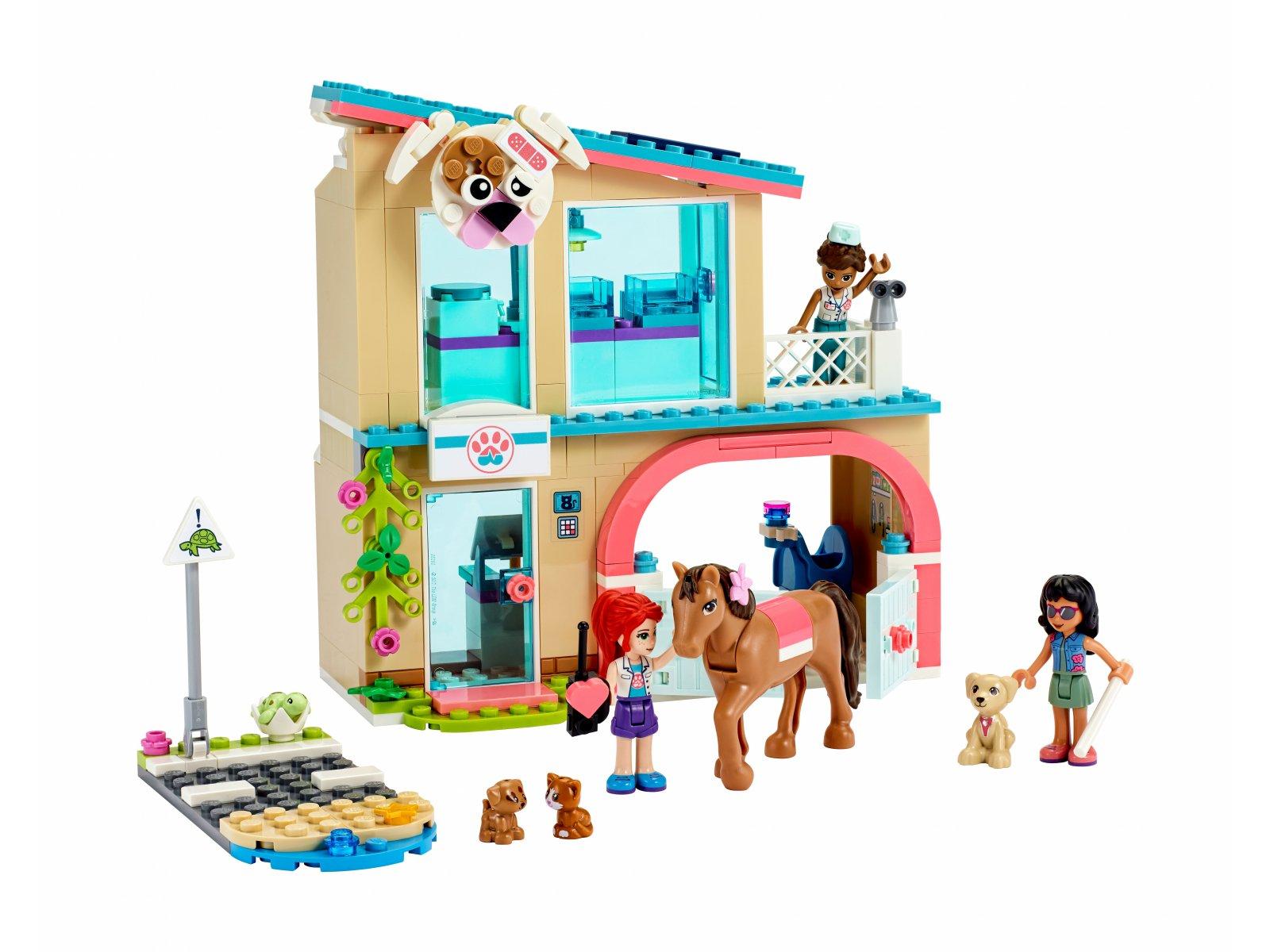 LEGO Friends 41446 Klinika weterynaryjna w Heartlake City