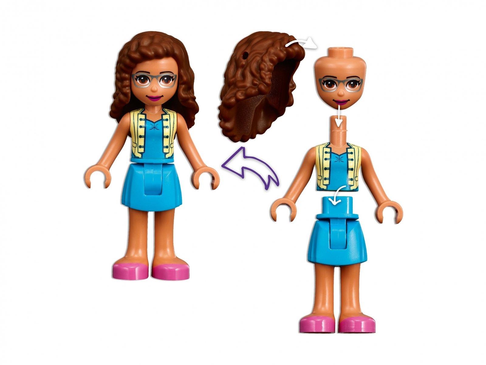 LEGO 41447 Friends Park w Heartlake City