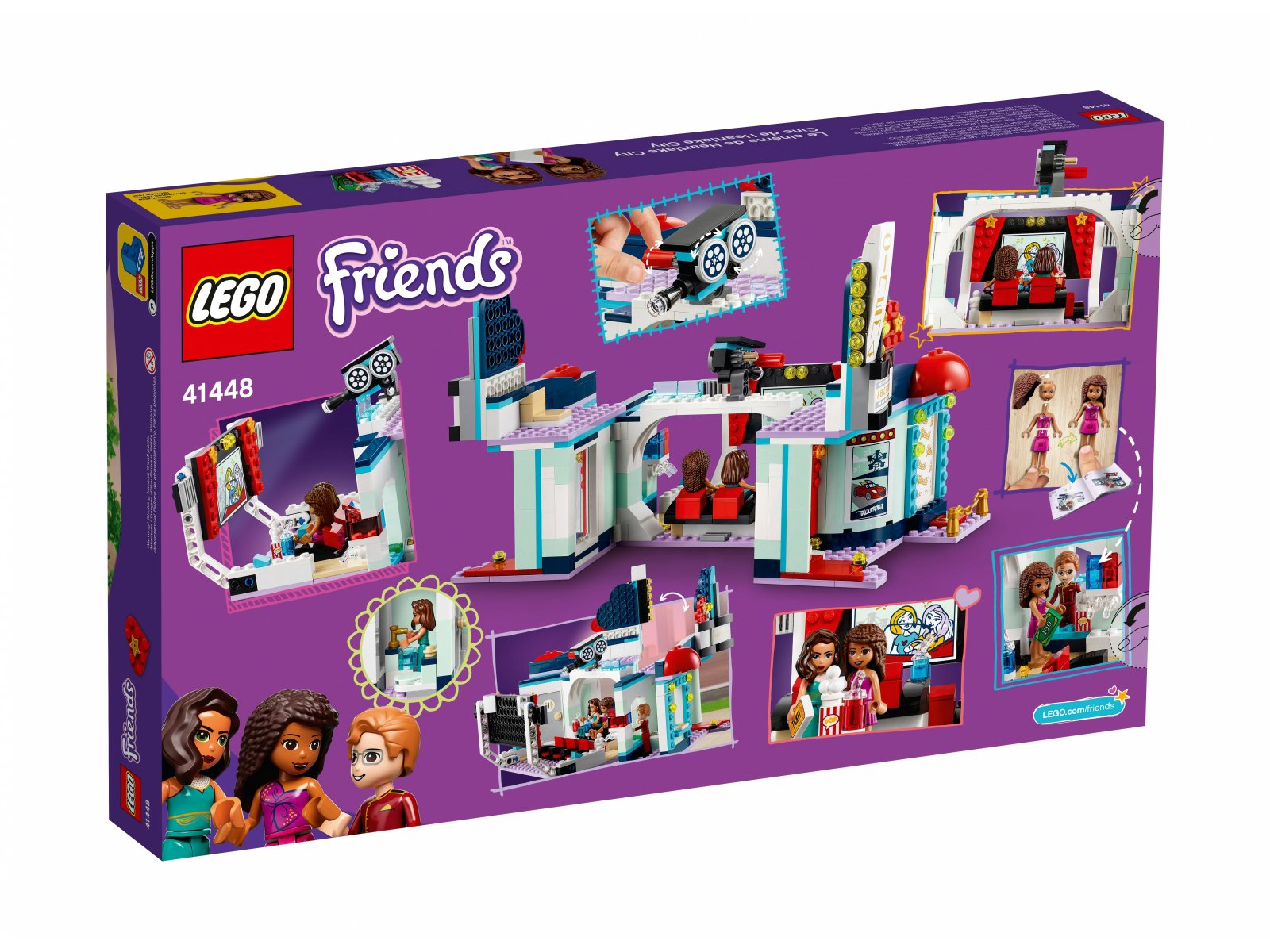 LEGO Friends Kino w Heartlake City 41448