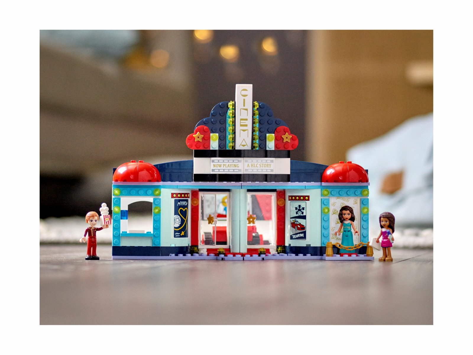 LEGO Friends 41448 Kino w Heartlake City
