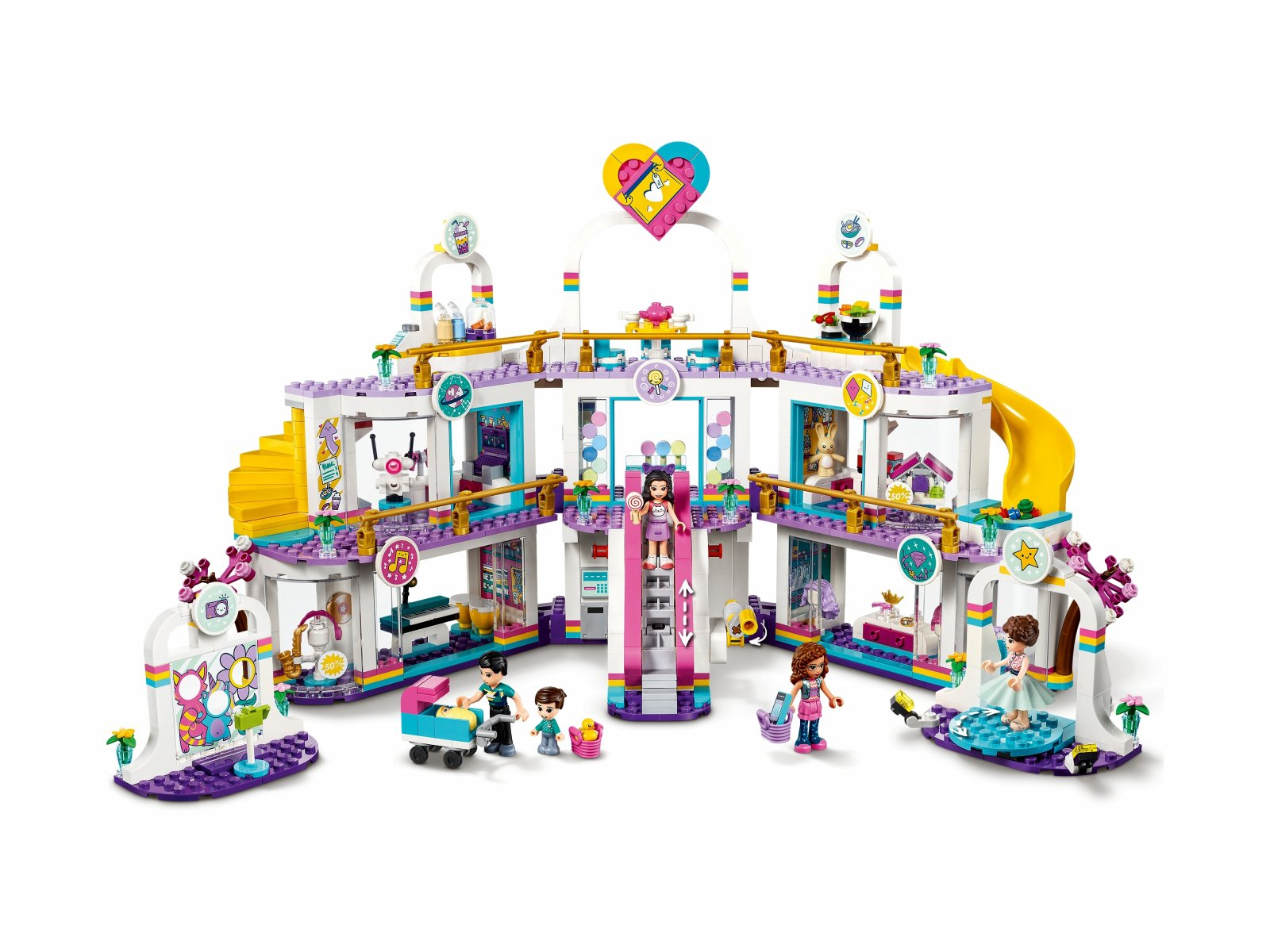 LEGO 41450 Friends Centrum handlowe w Heartlake City