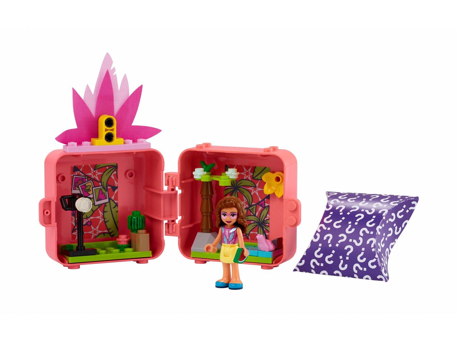 LEGO 41662 Friends Kostka Olivii z flamingiem