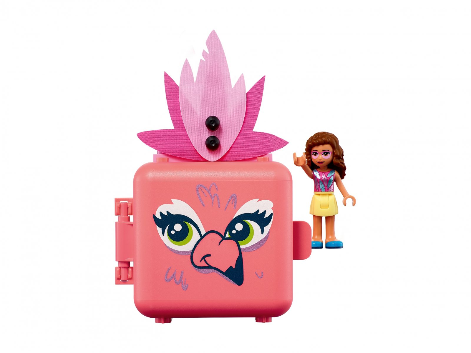 LEGO Friends Kostka Olivii z flamingiem 41662