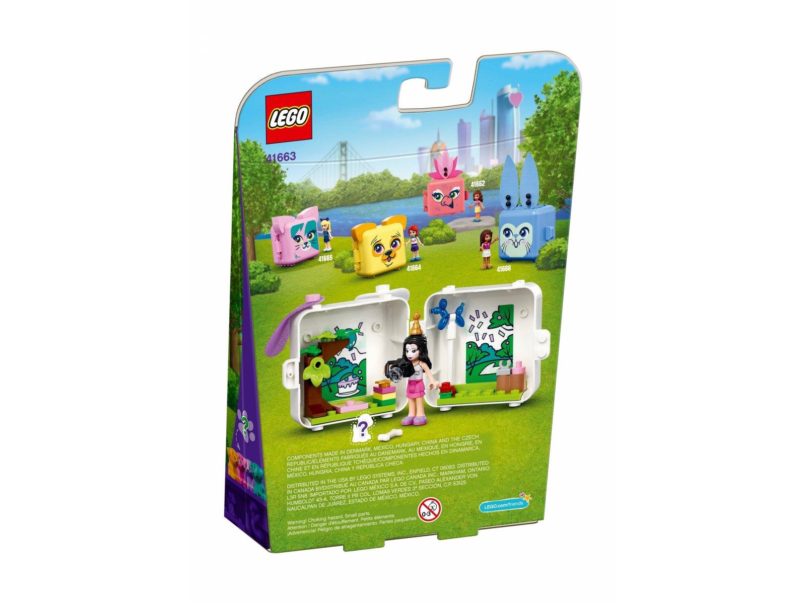 LEGO 41663 Friends Kostka Emmy z dalmatyńczykiem