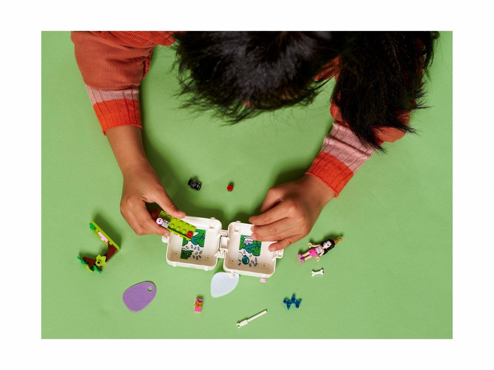 LEGO Friends Kostka Emmy z dalmatyńczykiem 41663