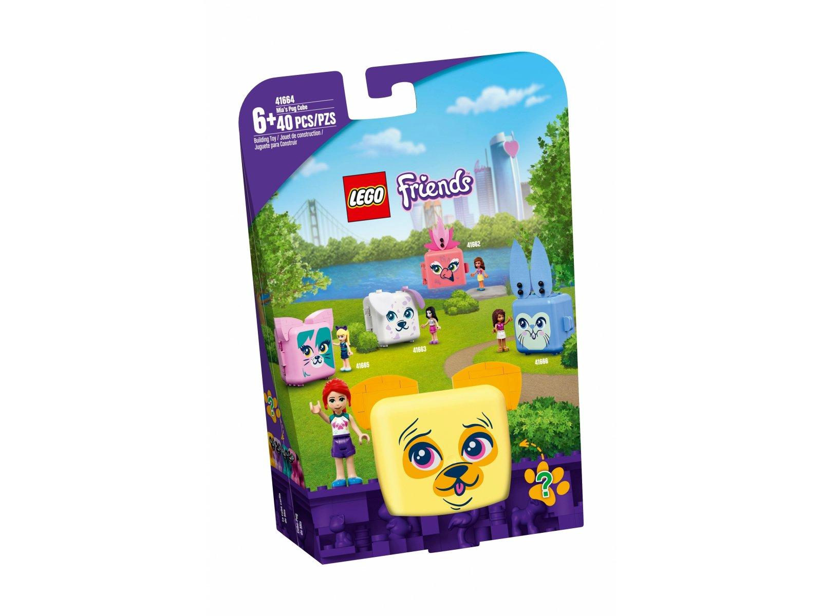 LEGO Friends 41664 Kostka Mii z mopsem