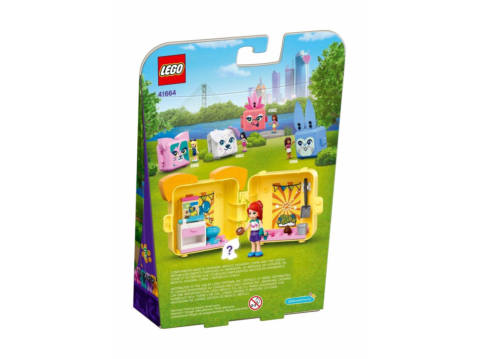 LEGO 41664 Kostka Mii z mopsem