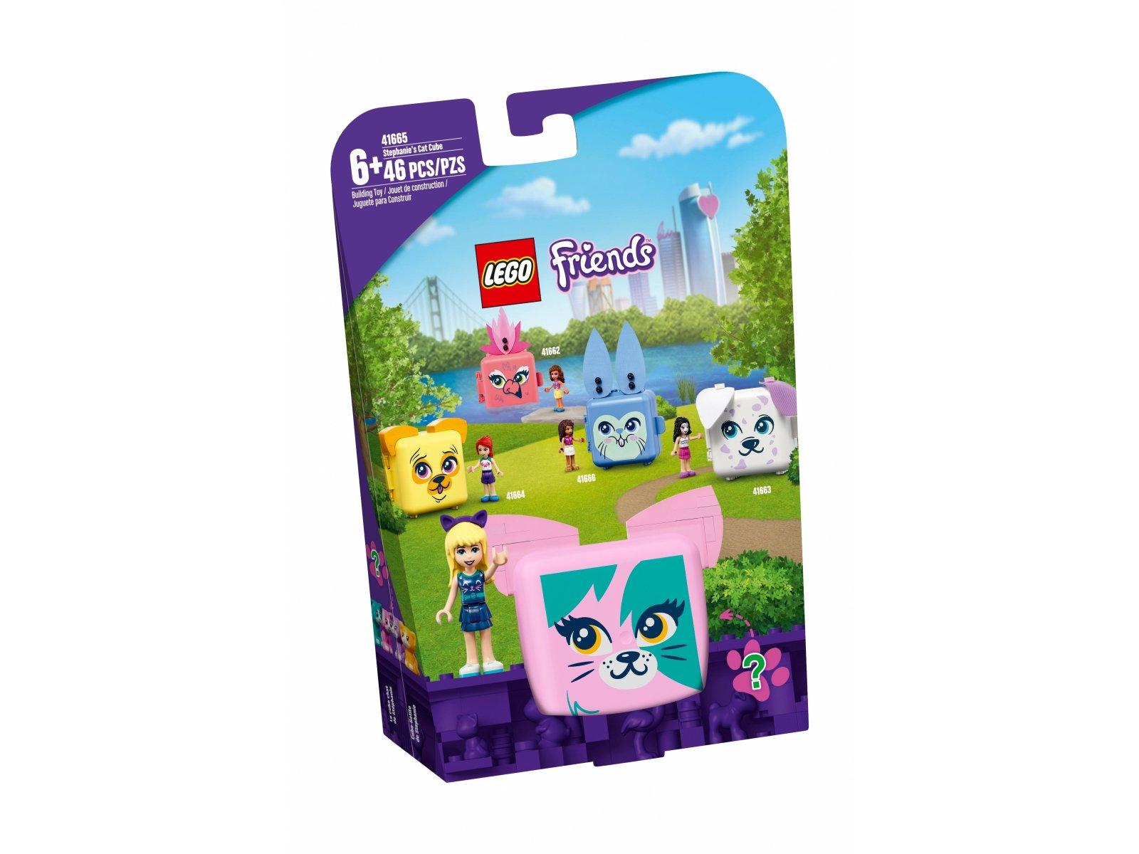 LEGO 41665 Friends Kostka Stephanie z kotem