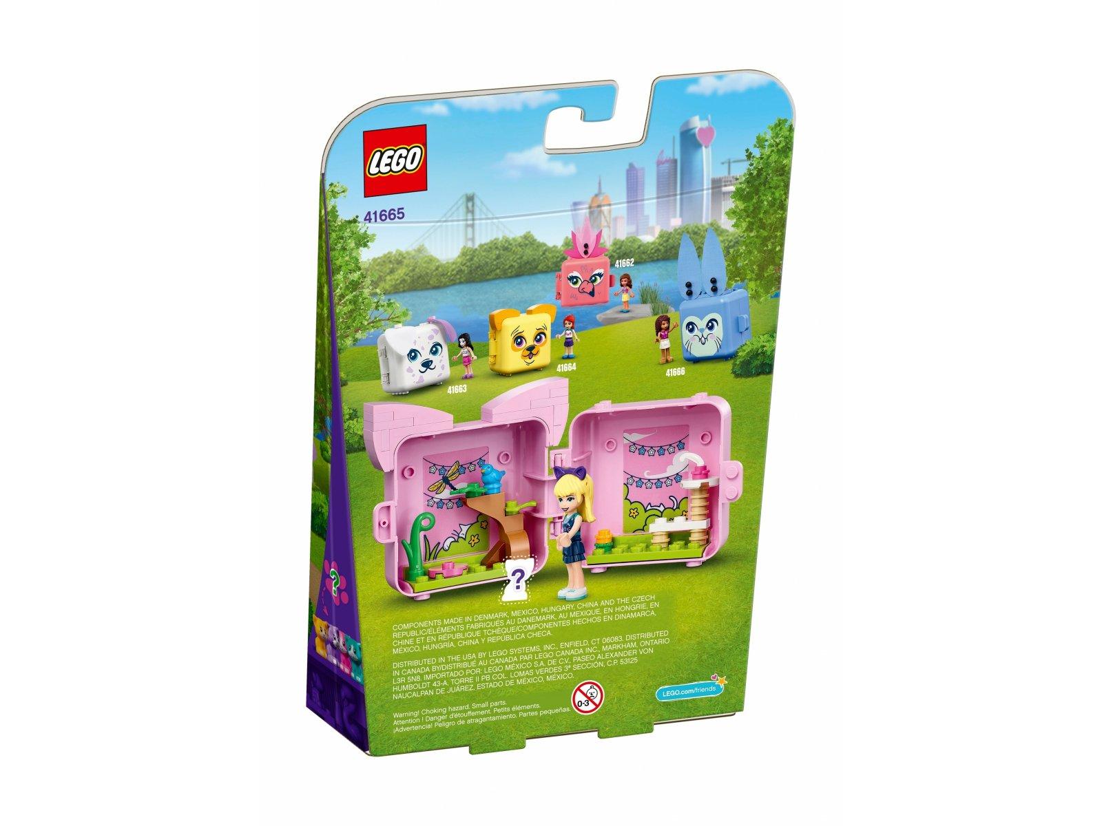 LEGO 41665 Kostka Stephanie z kotem