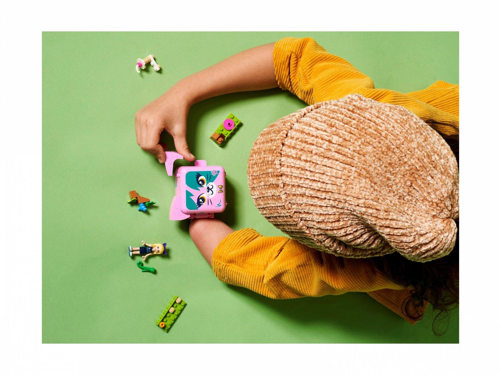 LEGO Friends 41665 Kostka Stephanie z kotem