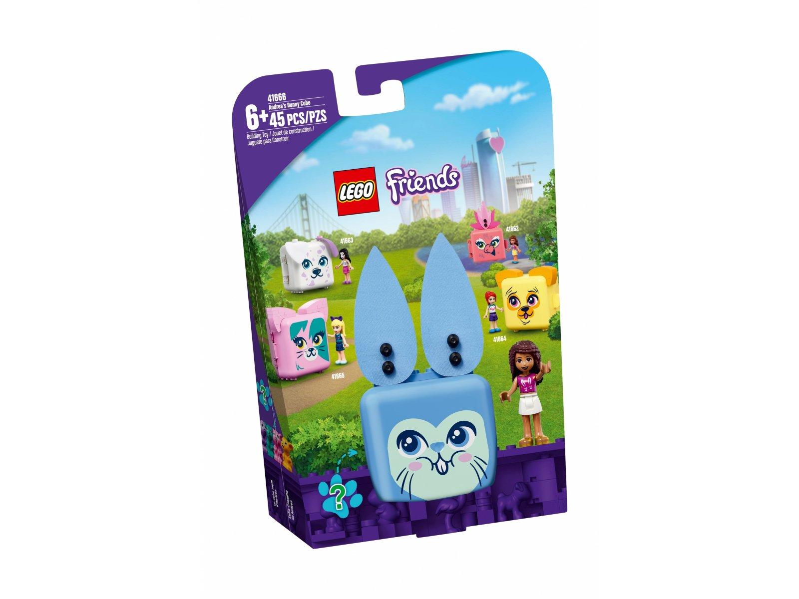 LEGO 41666 Friends Kostka Andrei z królikiem
