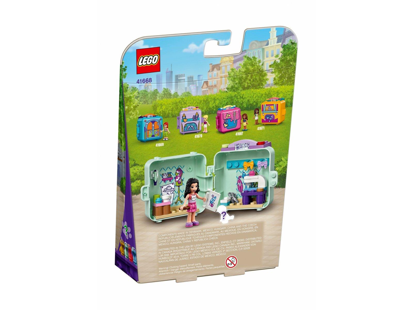 LEGO Friends 41668 Modowa kostka Emmy