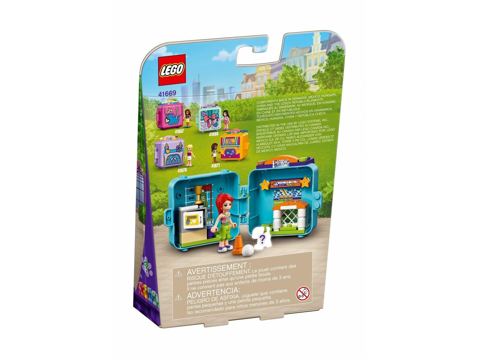 LEGO Friends 41669 Piłkarska kostka Mii