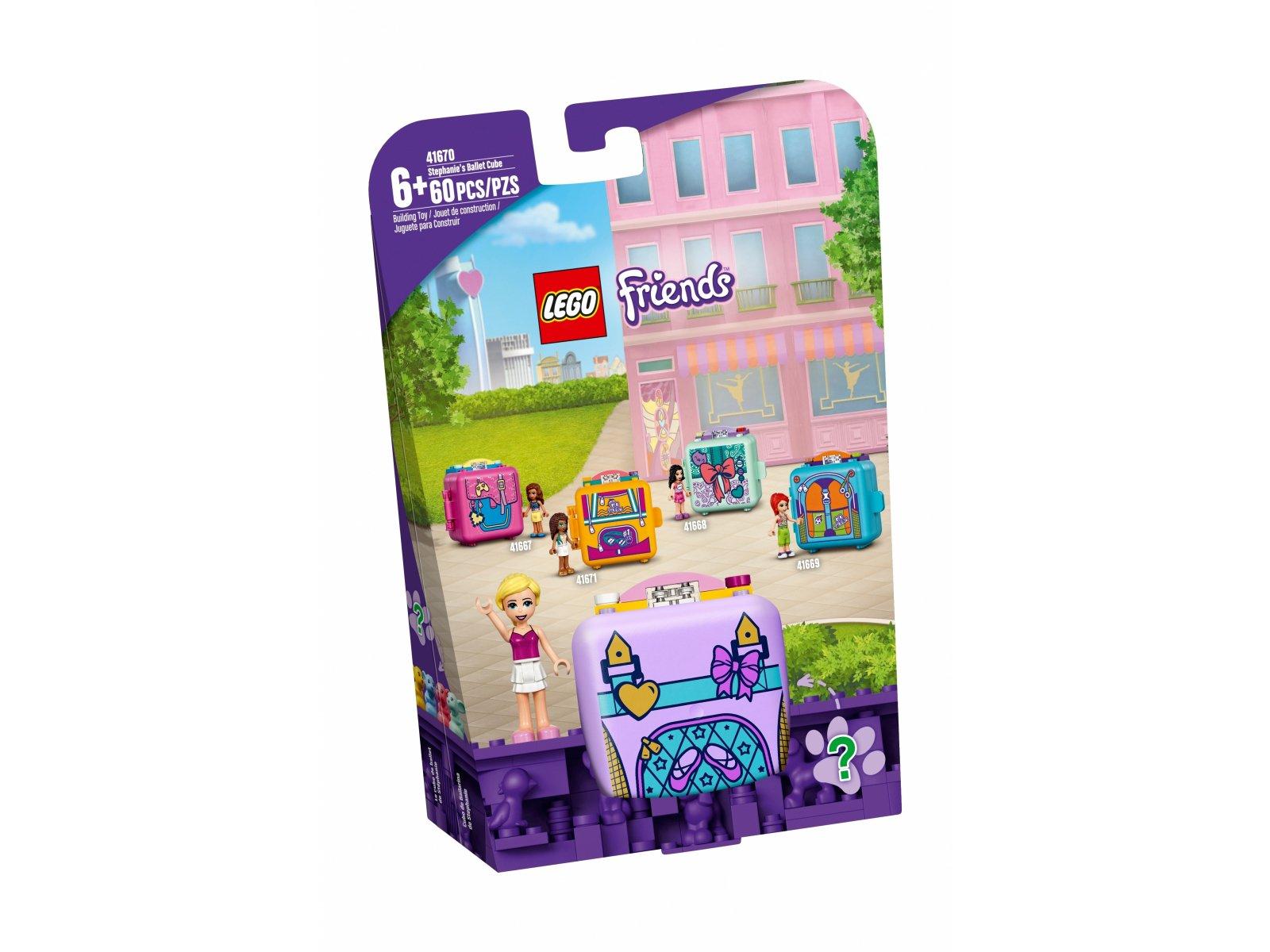LEGO Friends Baletowa kostka Stephanie 41670