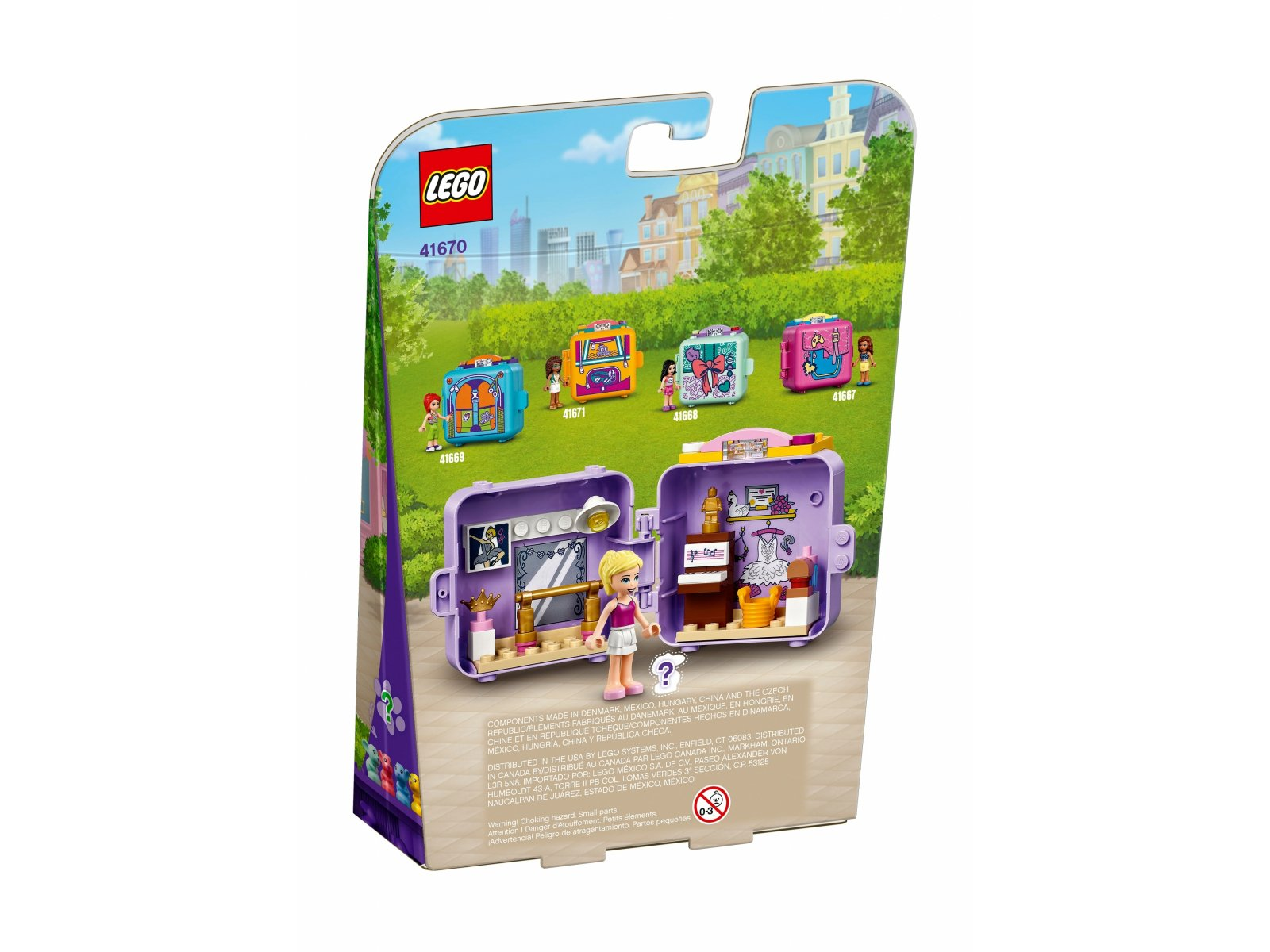 LEGO 41670 Friends Baletowa kostka Stephanie