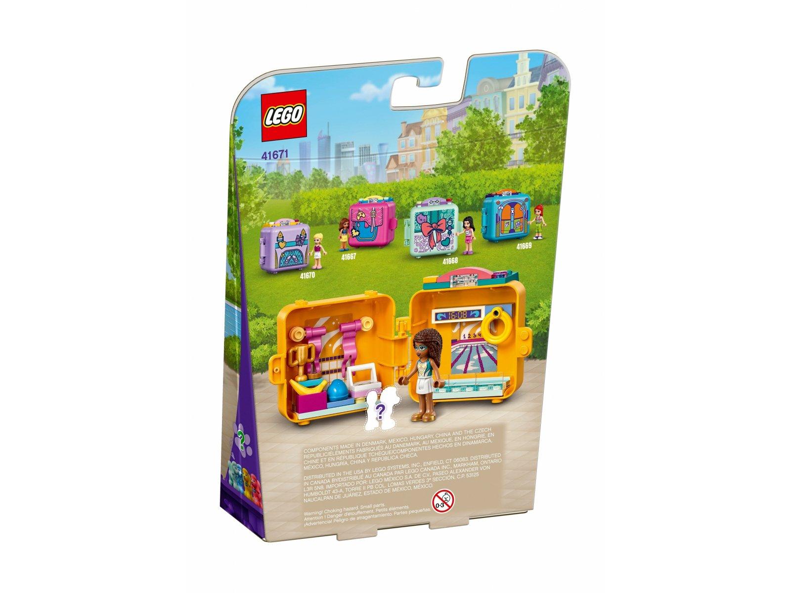 LEGO Friends 41671 Pływacka kostka Andrei