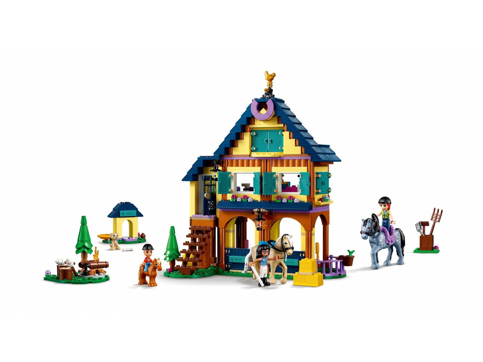LEGO 41683 Leśne centrum jeździeckie
