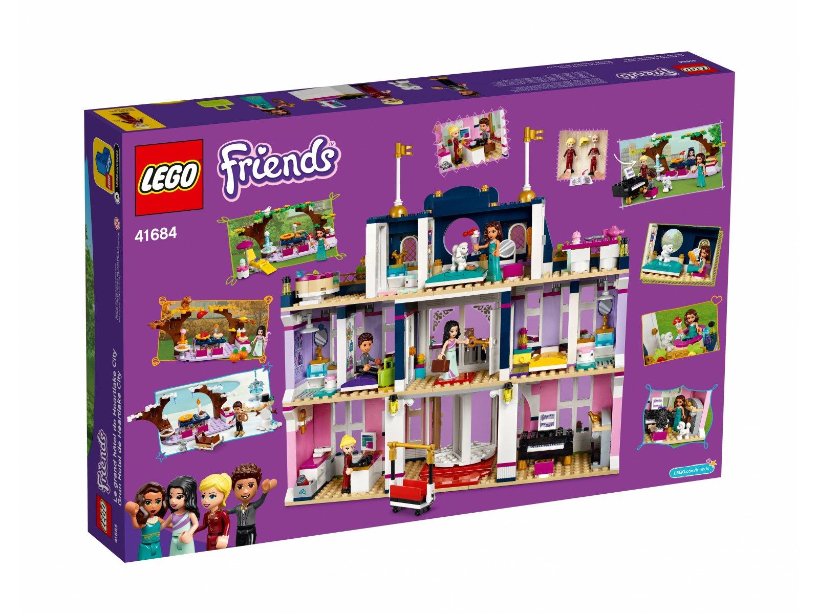 LEGO Friends Wielki hotel w mieście Heartlake 41684