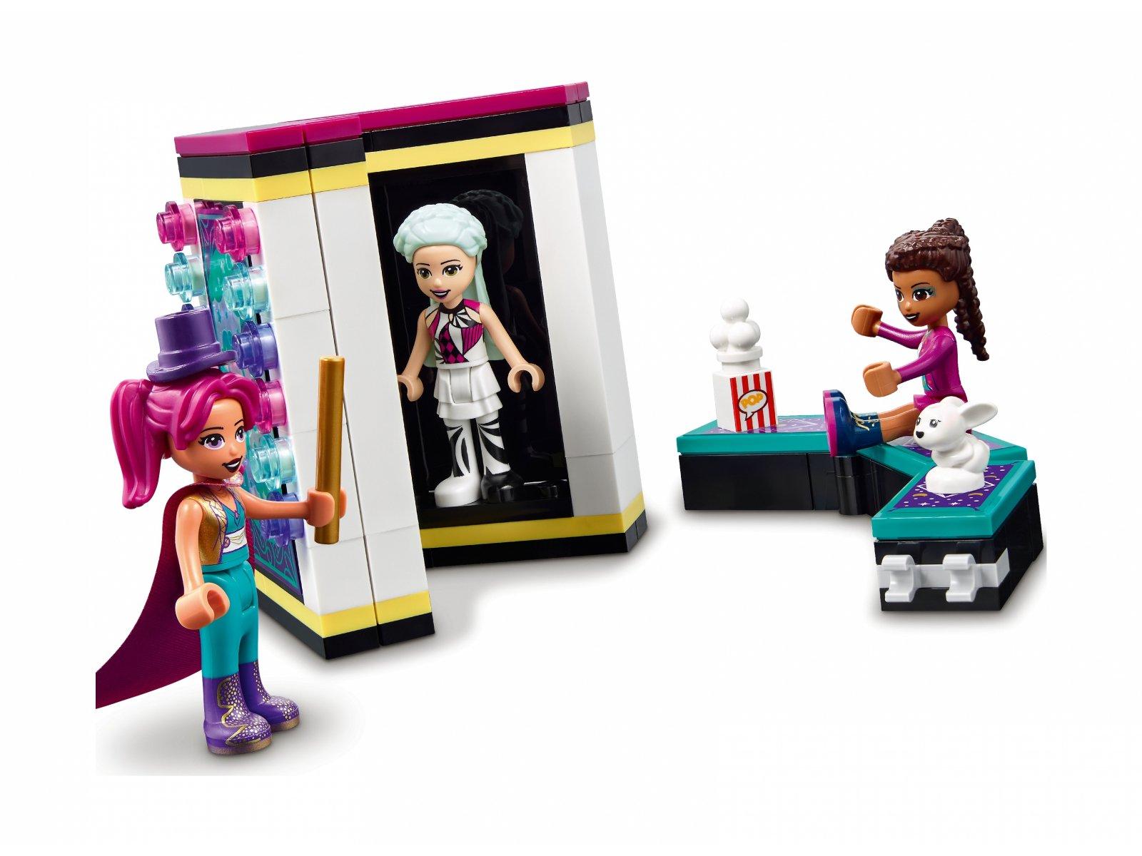 LEGO Friends Magiczne wesołe miasteczko z kolejką górską 41685