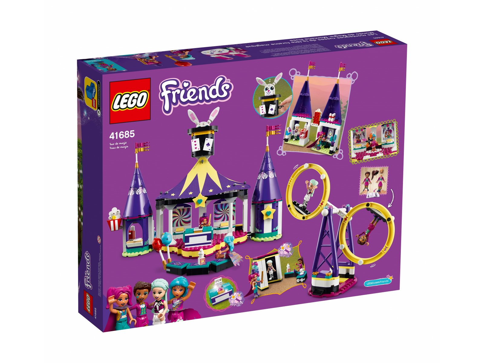 LEGO 41685 Magiczne wesołe miasteczko z kolejką górską