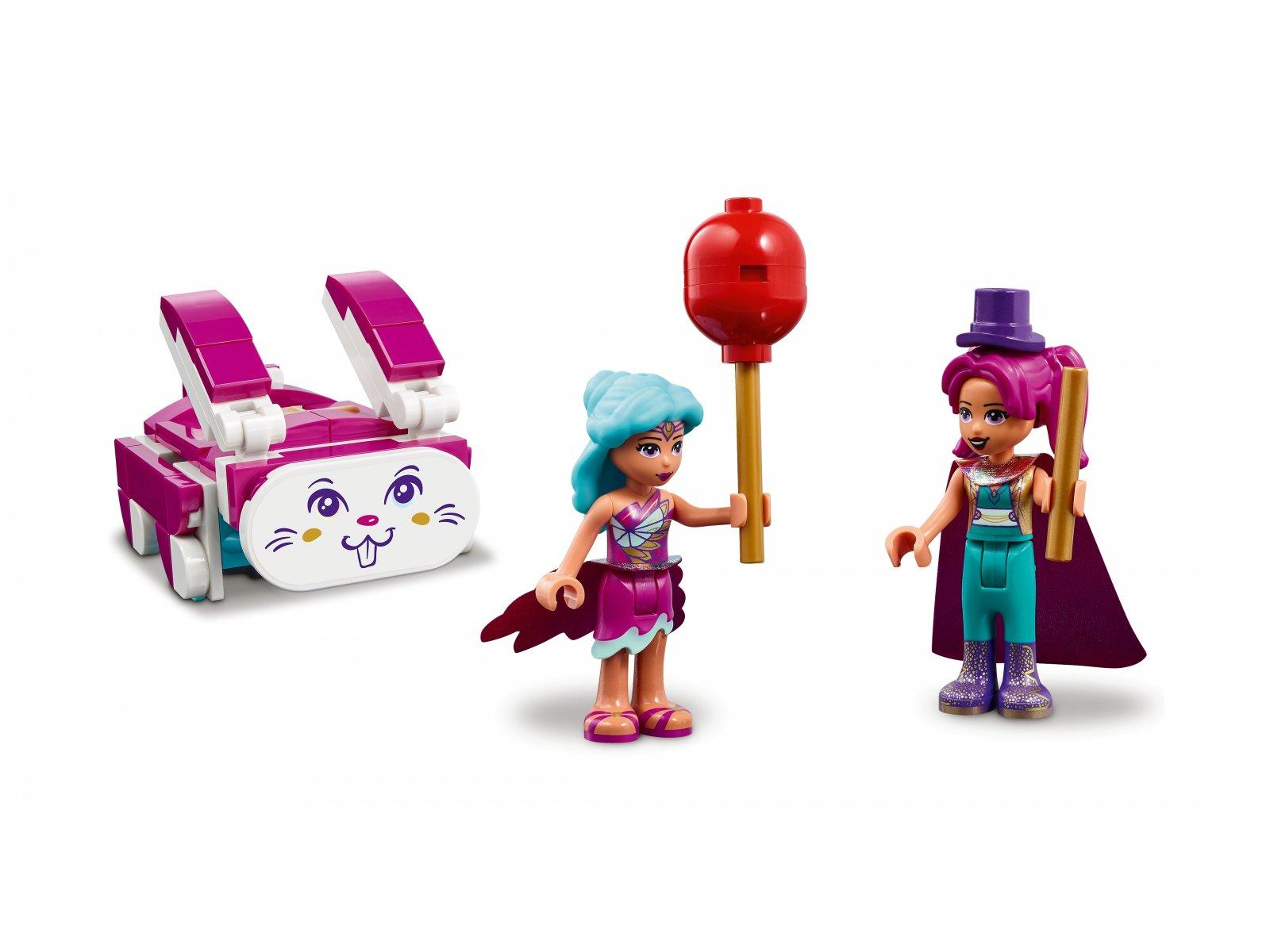 LEGO Friends 41685 Magiczne wesołe miasteczko z kolejką górską