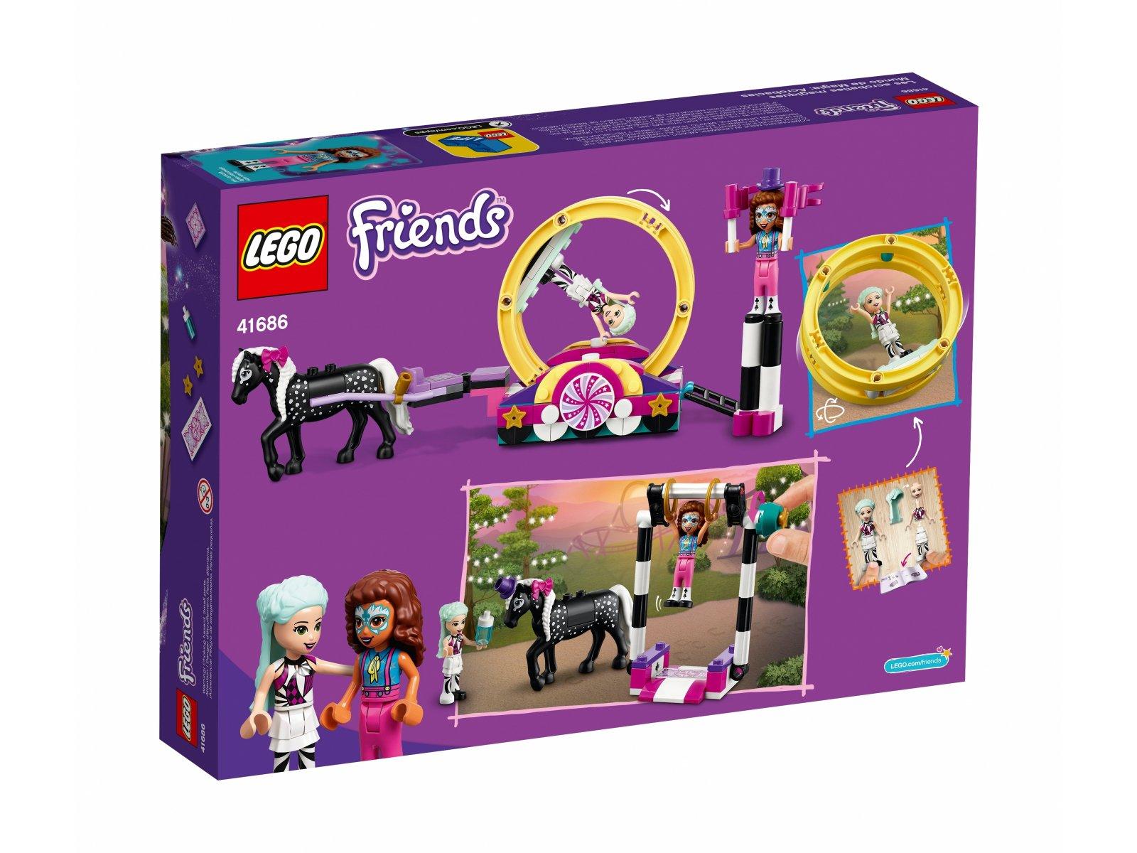 LEGO 41686 Friends Magiczna akrobatyka