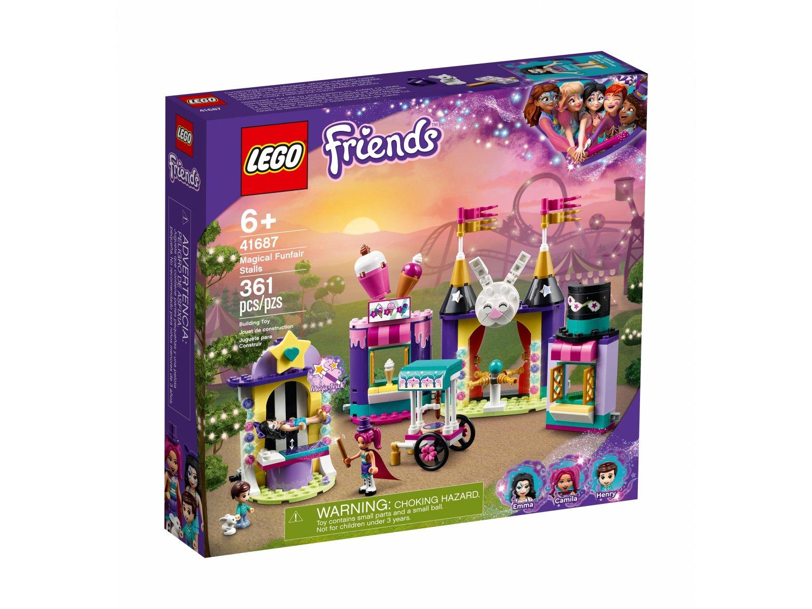 LEGO Friends Magiczne stoiska w wesołym miasteczku 41687