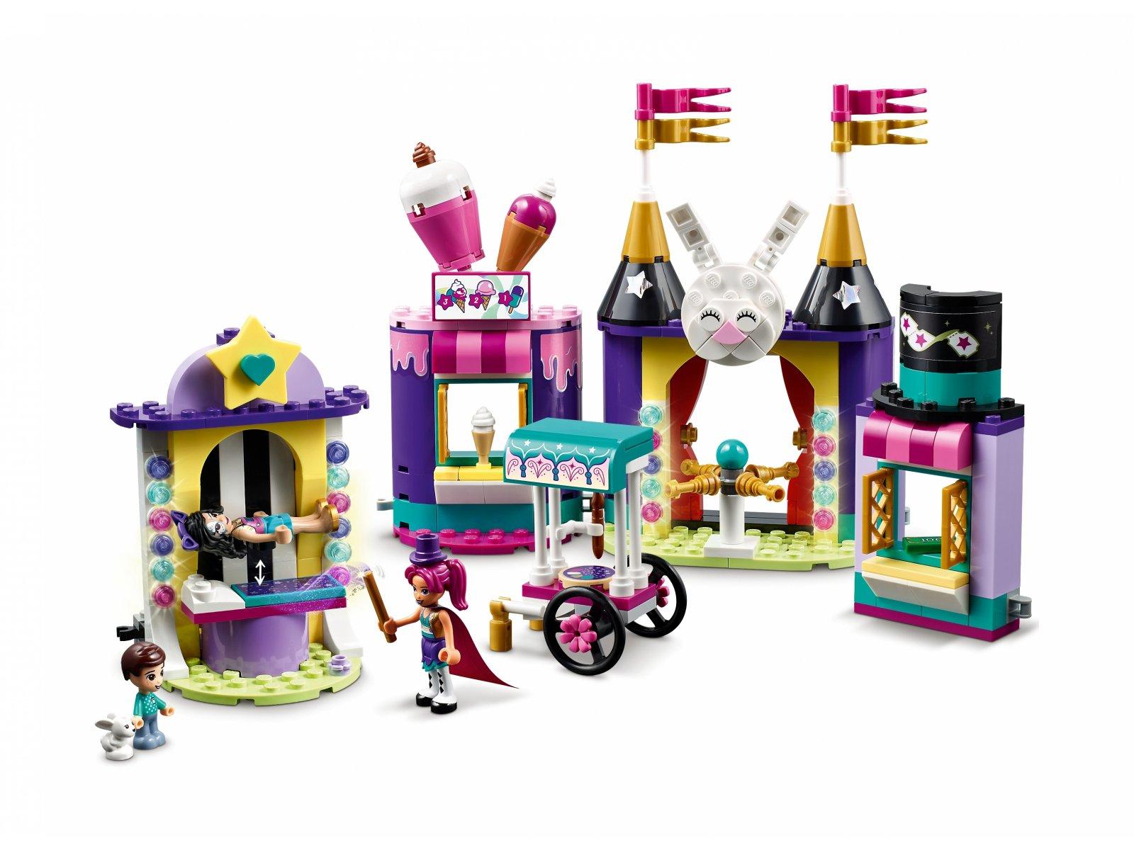 LEGO 41687 Magiczne stoiska w wesołym miasteczku