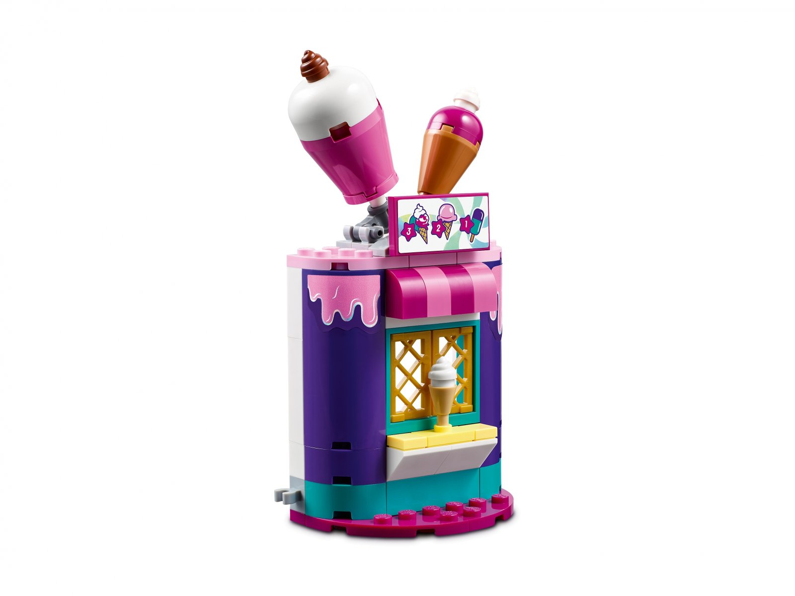 LEGO Friends 41687 Magiczne stoiska w wesołym miasteczku