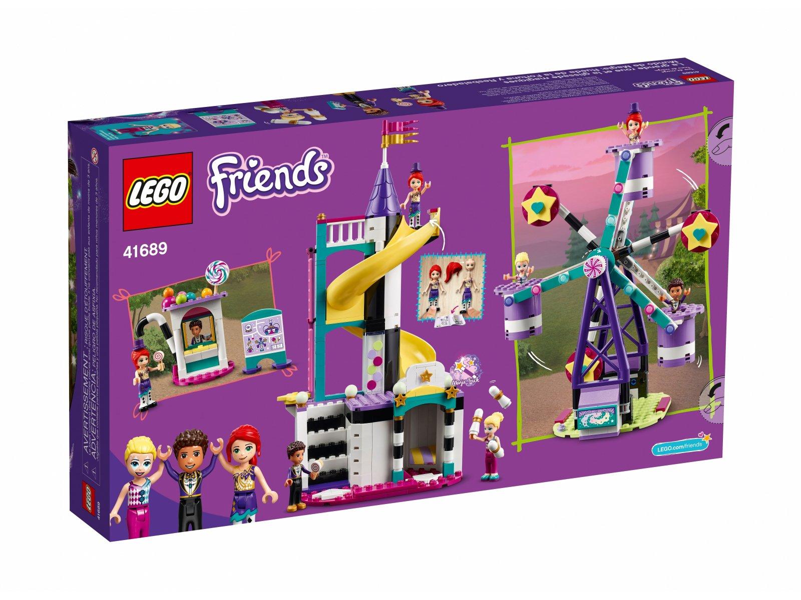 LEGO 41689 Magiczny diabelski młyn i zjeżdżalnia
